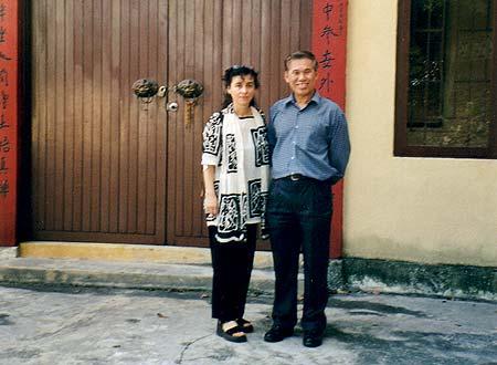 Adalia con sifu Wong Kiew Kit